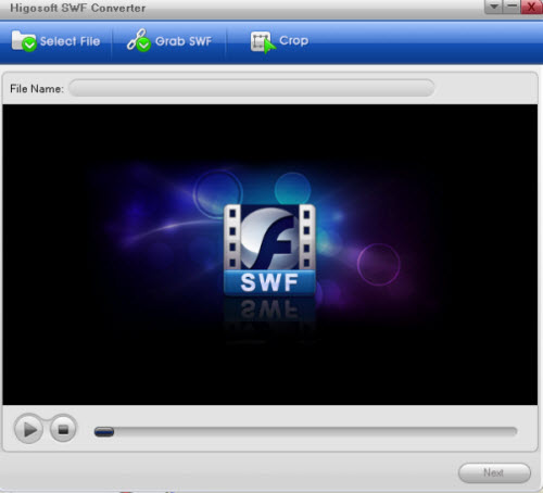 SWF Files Converter Convert SWF Files to Video, Audio or Pictures