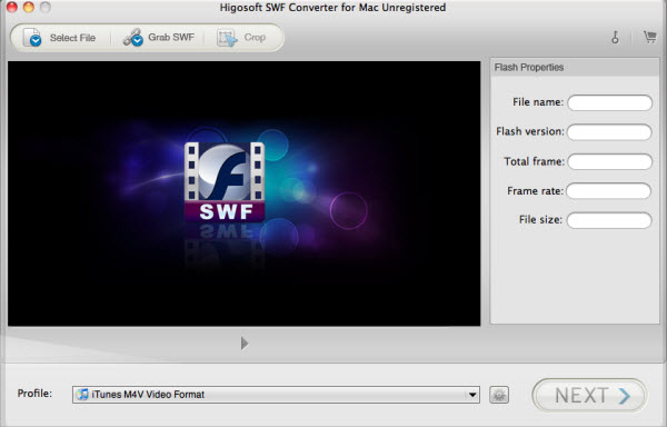 convert SWF to MOV on Mac