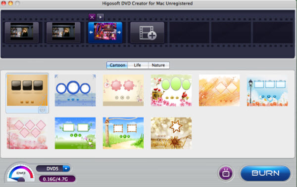 DVD Creator for Mac Screenshot