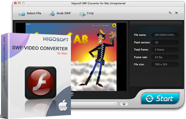Higosoft SWF Converter for Mac